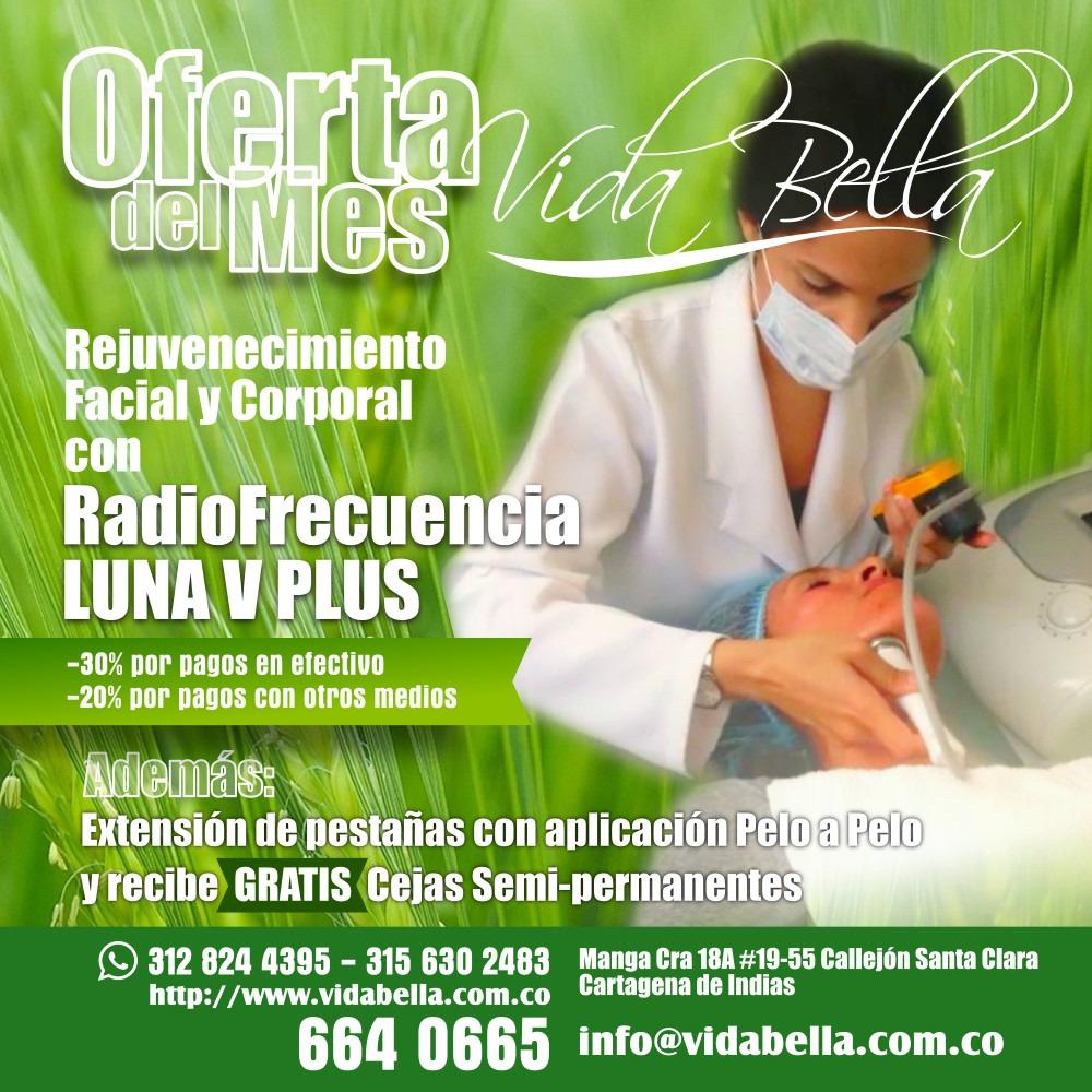Promoción en Radiofrecuencia LUNA V PLUS